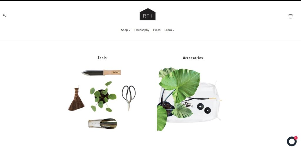 Branding photography and product pictures - rt1home website