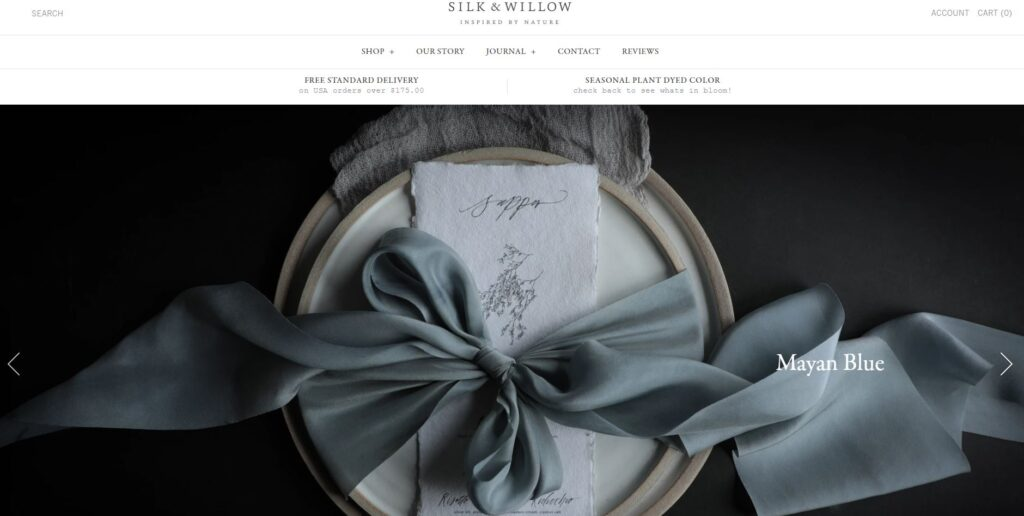 branding photos and product photos - silk and willow