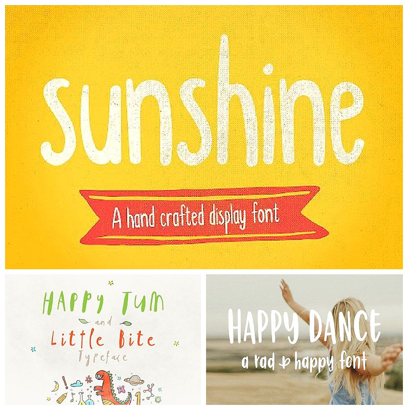 font in branding and visual marketing - group 1 fonts