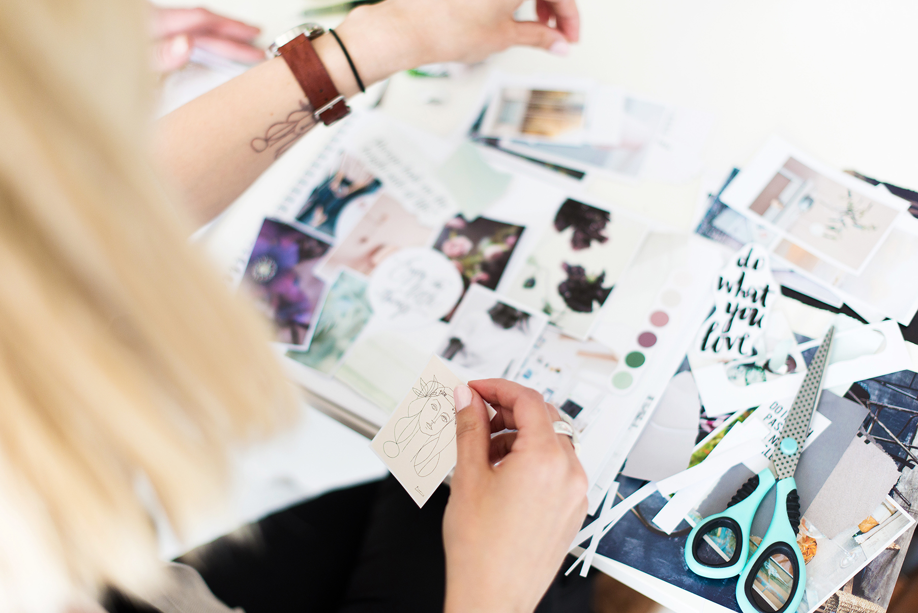 how to style your brand - brand design